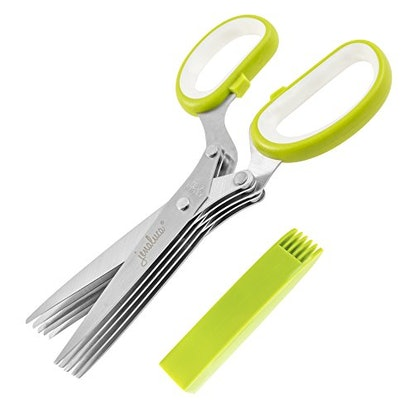 Jenaluca Herb Scissors with 5 Blades