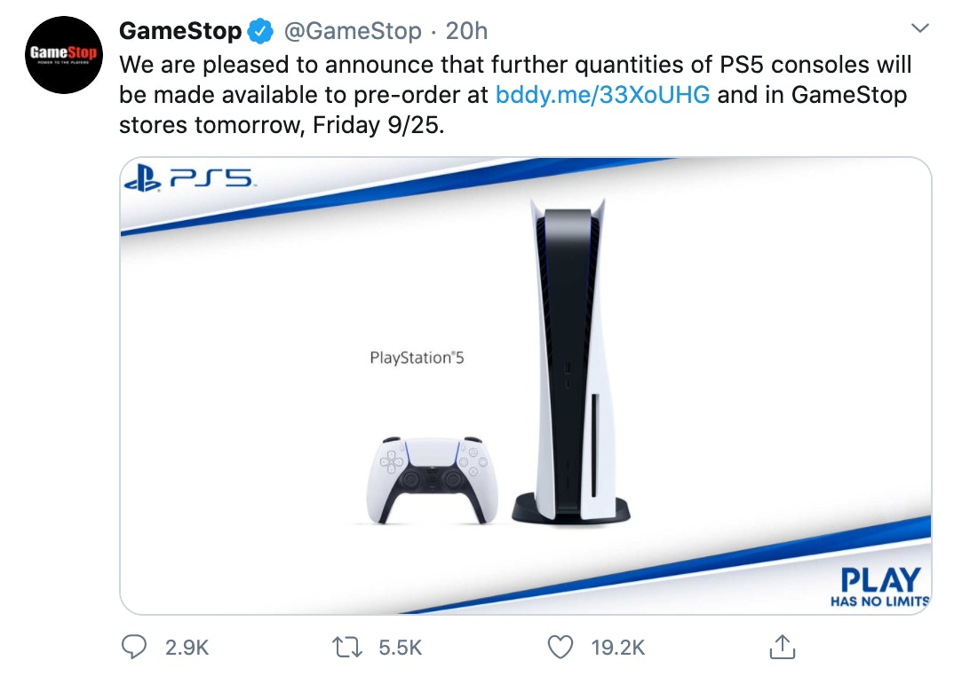 Playstation 5 Preorder Gamestop Gamestop Is Now Taking Preorders For Both Consoles In Store