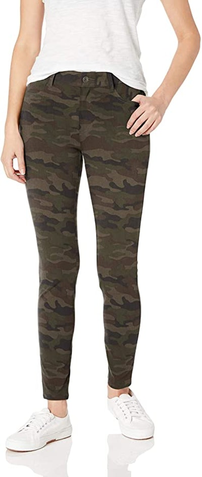 Amazon Essentials Mid-Rise Skinny Stretch Knit Jegging