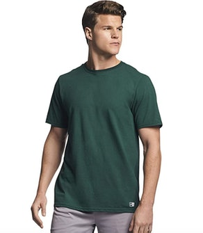 Russell Athletic Men's Cotton Performance Short-Sleeve T-Shirt