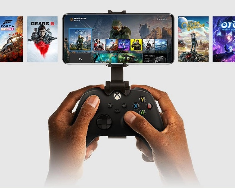 Microsoft's Xbox app allows users to stream games from their console to a smartphone.