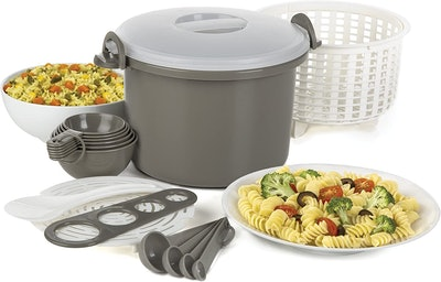 Prep Solutions Microwaveable Rice and Pasta Cooker