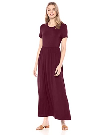 Amazon Essentials Short Sleeve Maxi Dress