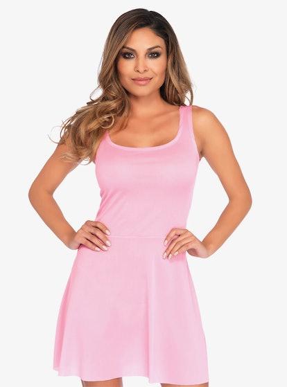 Hot Topic Pink Skater Dress