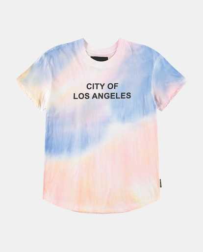 CITY OF LOS ANGELES AIRBRUSHED SPIRIT JERSEY® FITTED T-SHIRT