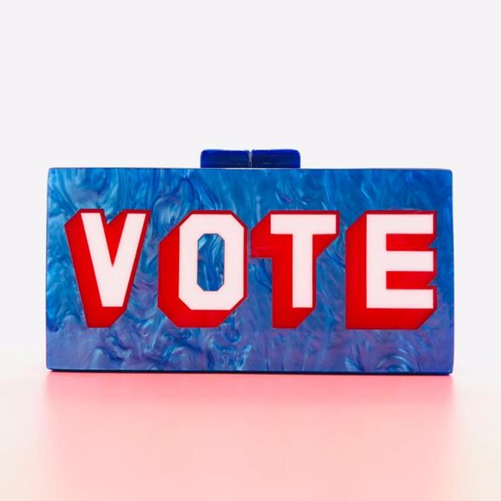 VOTE Acrylic Clutch