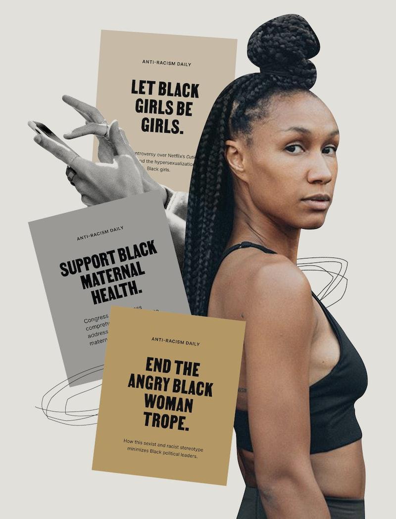 Nicole Cardoza of Anti-Racism Daily.