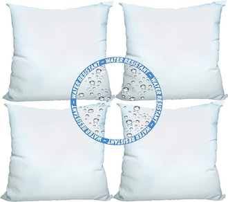 Foamily Water and Mold Resistant Throw Pillow