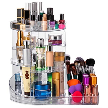 DreamGenius Makeup Organizer 360-