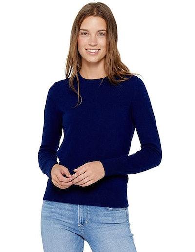 State Cashmere Essential Crewneck Sweater