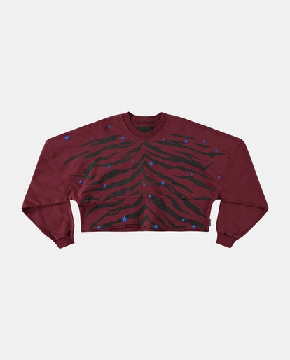 WHERE THE STARS ARE TIGER CROPPED LONG SLEEVE SPIRIT JERSEY®