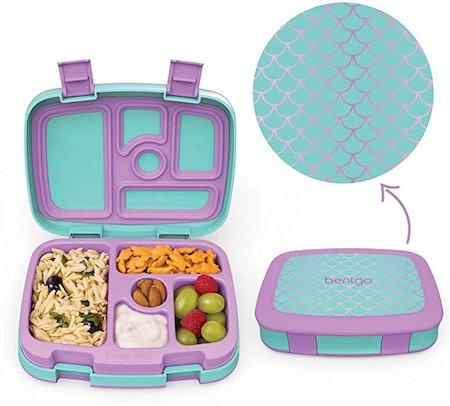 Bentgo Kids Prints 5-Compartment Bento-Style Kids Lunch Box
