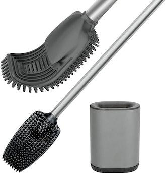 VENETIO Toilet Brush with Holder