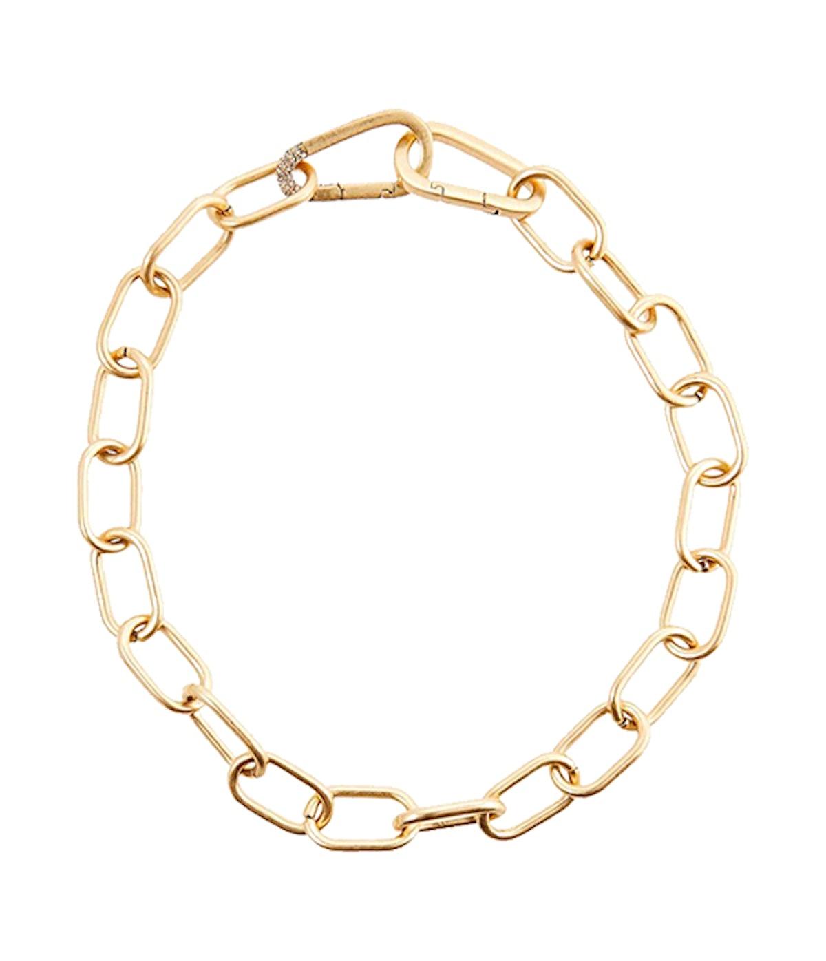 Carabiner Link Collar Necklace