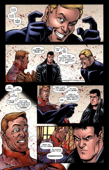 homelander vs black noir comics