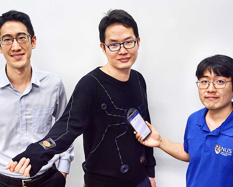 A team of researchers created a smart suit that can provide real-time monitoring of health data.
