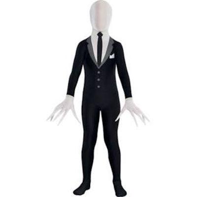 Child Slender-Man Party Suit