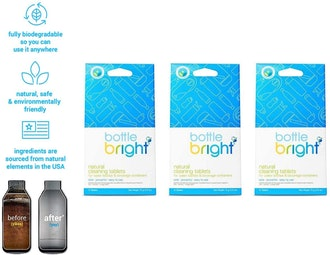 Bottle Bright Water Bottle Cleaning Tablets