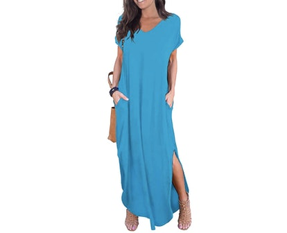GRECERELLE Women's Casual Maxi Dress