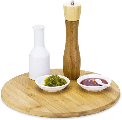 TB Home Bamboo Lazy Susan