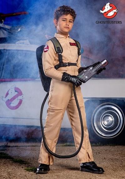 Ghostbuster Kid Deluxe Costume