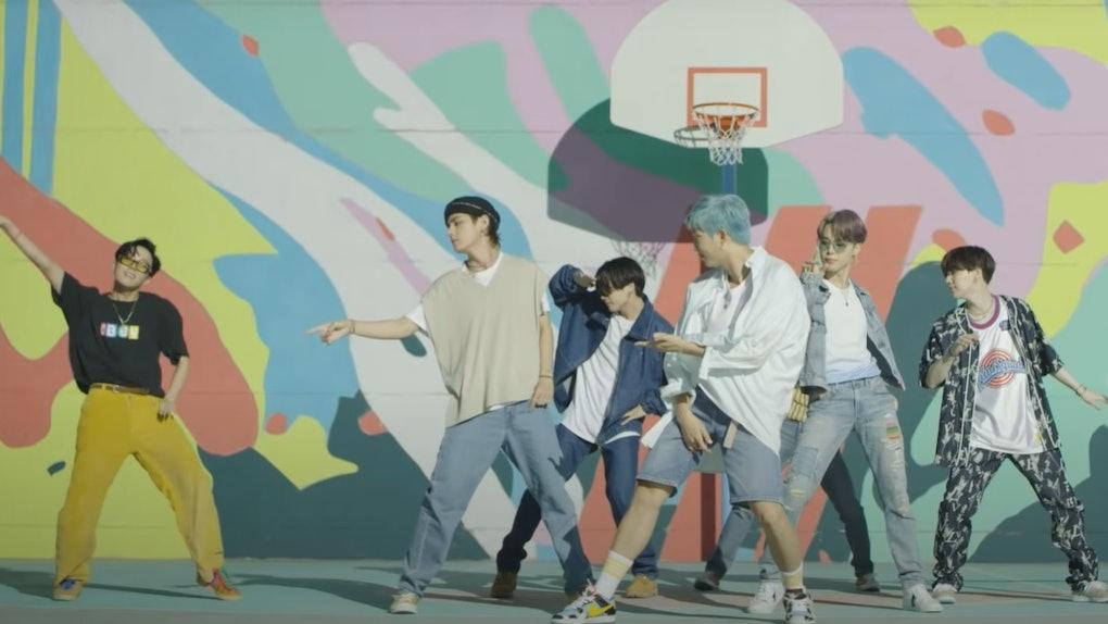 "BTS' ""Dynamite"" choreography music video is a fun, uplifting watch."