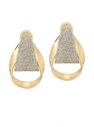 Slay The Night Gold Door Knocker Earrings