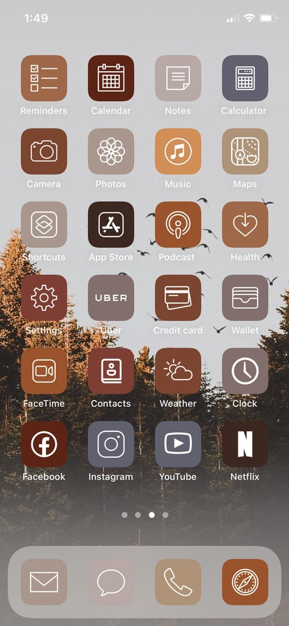 Fall Aesthetic iPhone ios14 App Icons