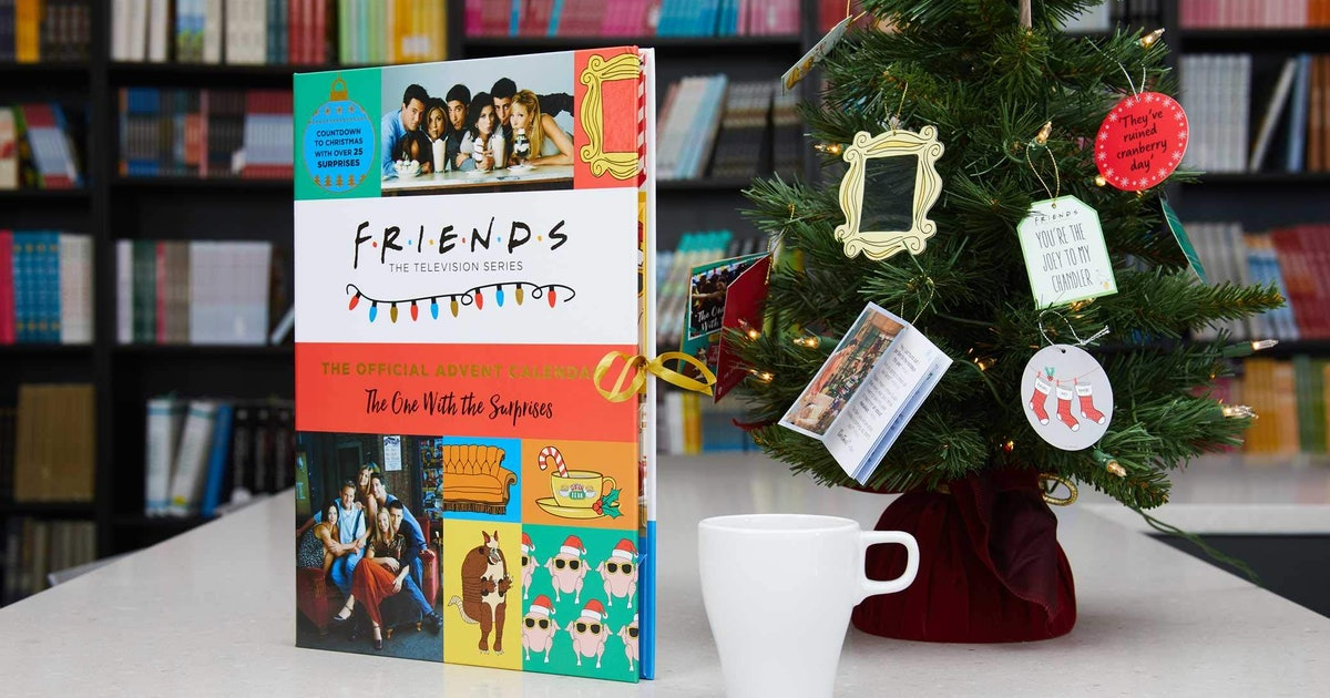 This 'Friends' Advent Calendar Comes With A Surprise From The Holiday Armadillo