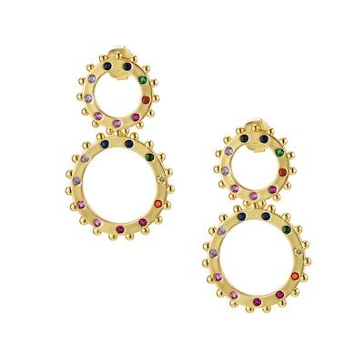 Rockin Rainbow Earrings