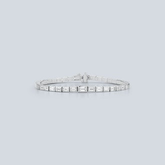 Prive Luxe Diamond Baguette Tennis Bracelet