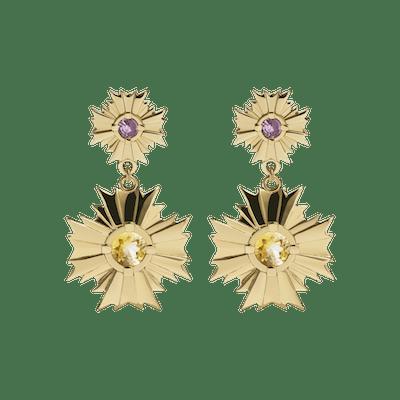 August Drop Earrings