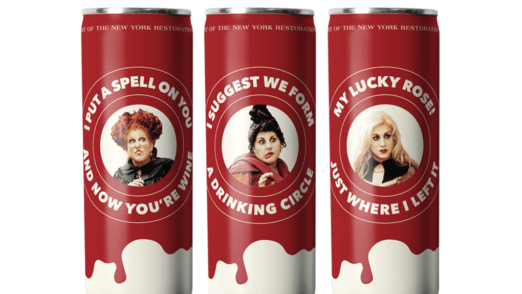 This 'Hocus Pocus' canned wine is the perfect brew for spooky season.