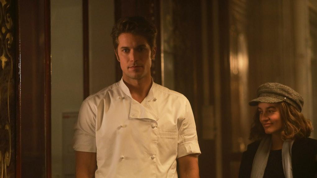 Lucas Bravo as Gabriel in 'Emily in Paris'