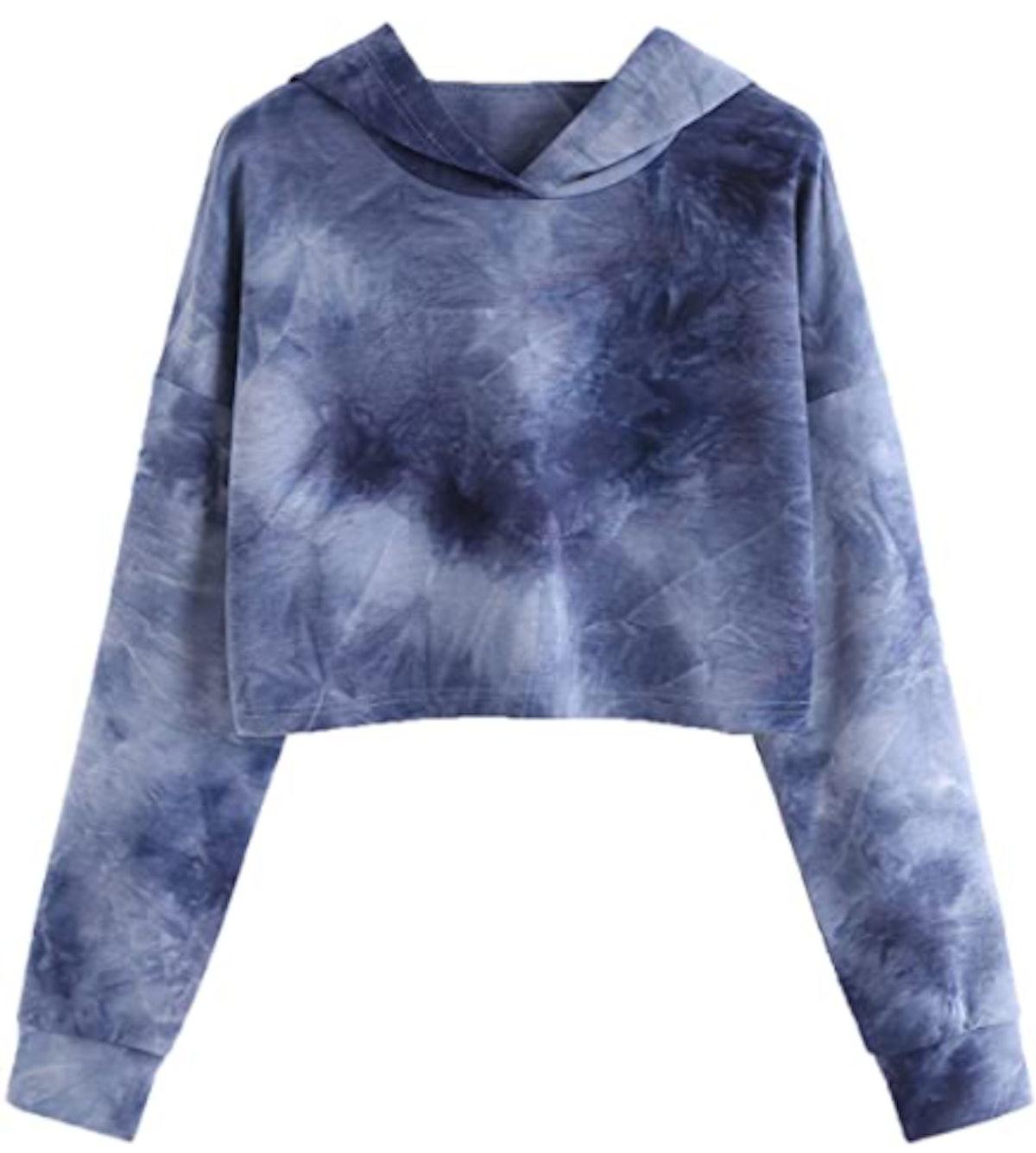 SweatyRocks Crop Top Sweatshirt