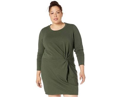 Core 10 Twist Sweatshirt Dress