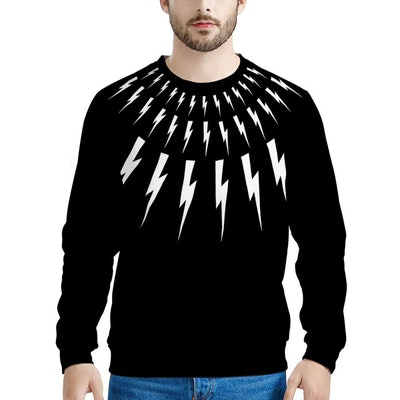 Schitt's Creek David Rose Lightning Bolt Sweatshirt