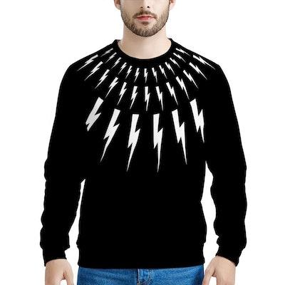 Schitt's Creek David Rose Lightning Bolt Sweatshirt