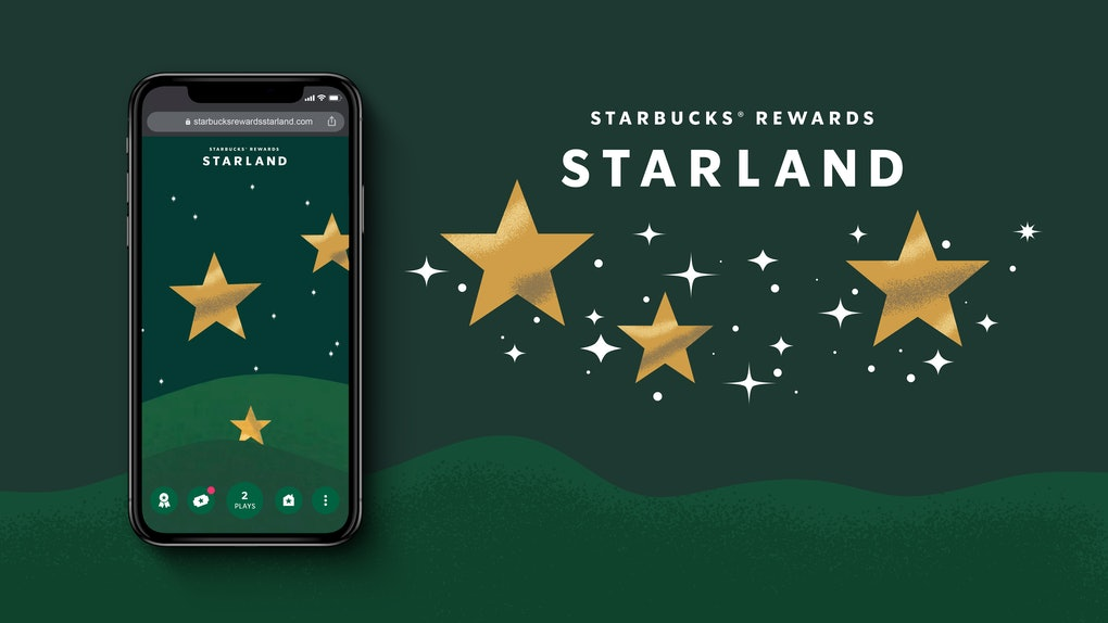 Here's how to play Starbucks' Starland game to try your hand at winning prizes.