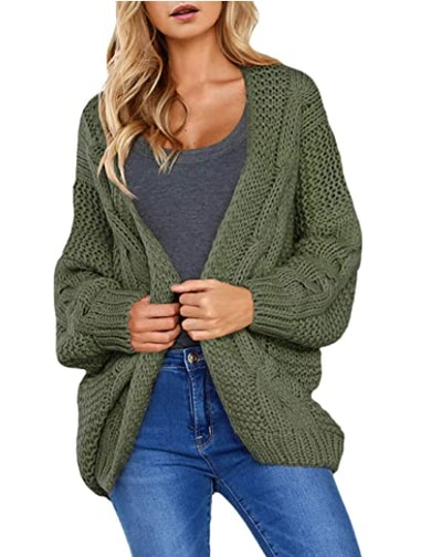 Dokotoo Chenille Knit Cardigan