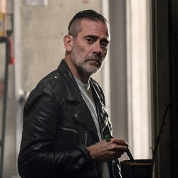 Jeffrey Dean Morgan as Negan inThe Walking Dead Season 10 via the AMC press site