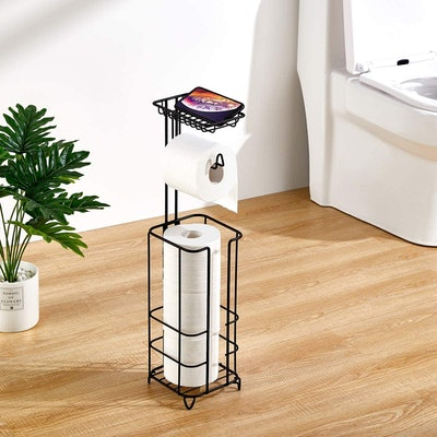 zccz Toilet Paper Holder Stand