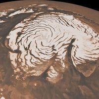 Astronomers discover a salty underworld beneath the Martian surface