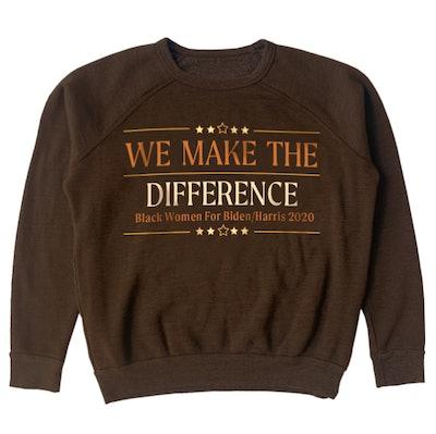 Aurora James 'We Make The Difference' Crewneck Sweatshirt