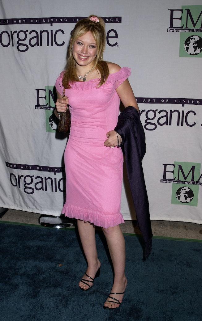 Hilary Duff at the 2001 Annual Environmental Media Awards