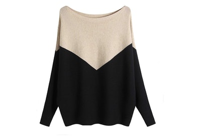 GABERLY Dolman Knitted Sweater
