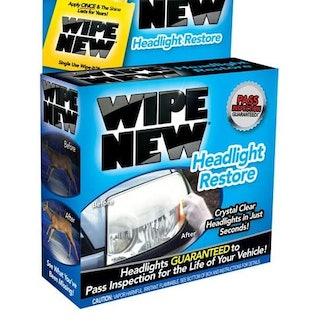 Wipe New Headlight Restore Kit