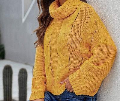 Dokotoo Chunky Cableknit Sweater