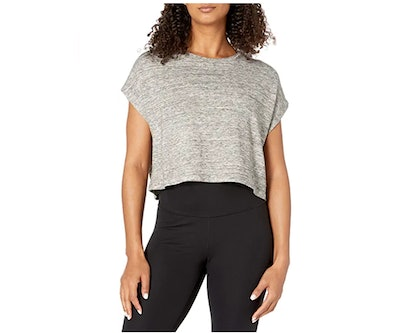 Core 10 French Terry Crop Top