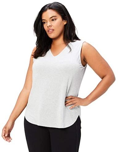 Daily Ritual Women's Plus Size Jersey V-Neck Tank Top